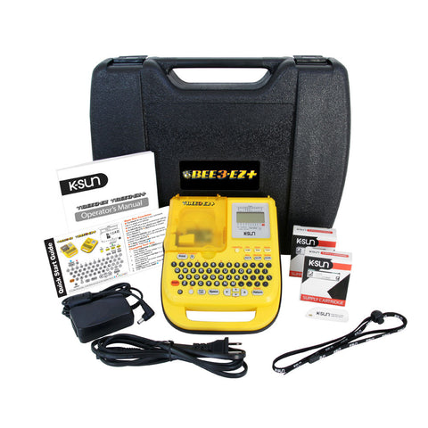 K-Sun LABELShop BEE3-EZ+ Shrink Tube & Label Printer Kit
