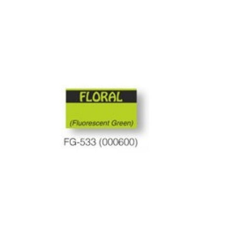 "Monarch 1131 ""Floral"" Green Labels (8 rolls) - 000600"