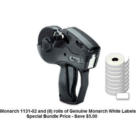 "Monarch 1131-02 Label Gun ""Year/Date"" - Includes (8) rolls of white labels"