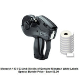 Monarch 1131-03 Label Gun - Includes (8) rolls of white labels