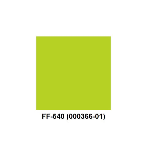 Monarch 1136 Fluorescent Green Labels (1 Roll) - 000366-01