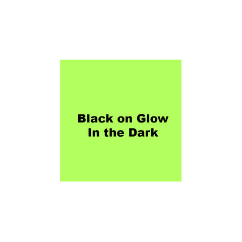 "Epson 1-1/2"" Black on Glow in the Dark Tape - 236LMYPX"