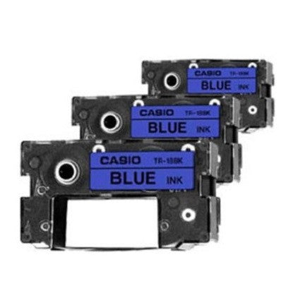 Casio Ink Ribbon Blue (3-Pack) - TR-18BU-3P