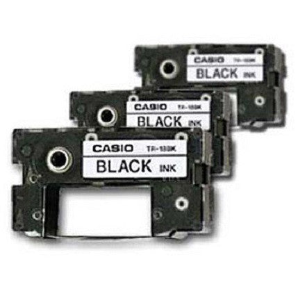 Casio Ink Ribbon Black (3-Pack) - TR-18BK-3P