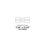 Dymo 30299 White 2-up Jewelry Labels (Barbell Style)