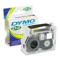 "Dymo 61210 Clear 1/2"" D2 Tape"