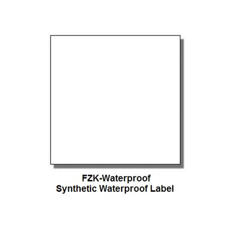 Monarch 1153 & 1175 White (Waterproof) Labels (6 rolls) - FZK-Waterproof