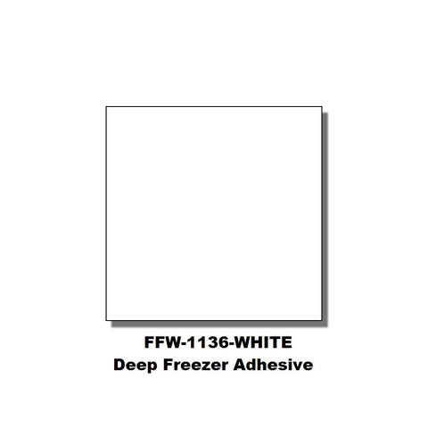 Monarch 1136 White Labels (Deep Freezer Adhesive) (8 rolls) - FFW-WHITE