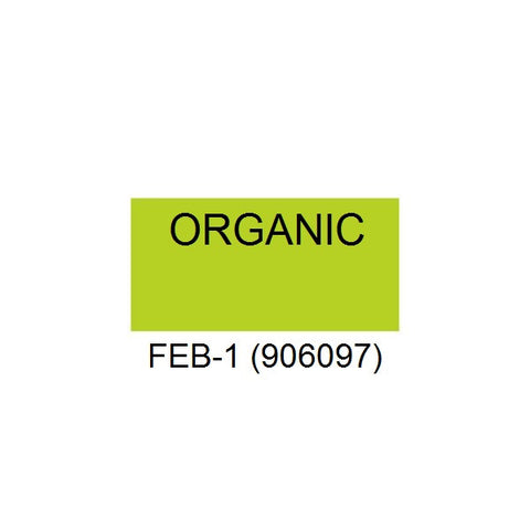 "Monarch 1105, 1107 & 1110 ""ORGANIC"" Labels (16 rolls) - FEB-1 (906097)"