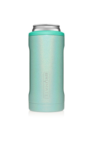 Brumate Hopsulator Slim-Glitter Aqua - BluePeppermint Boutique