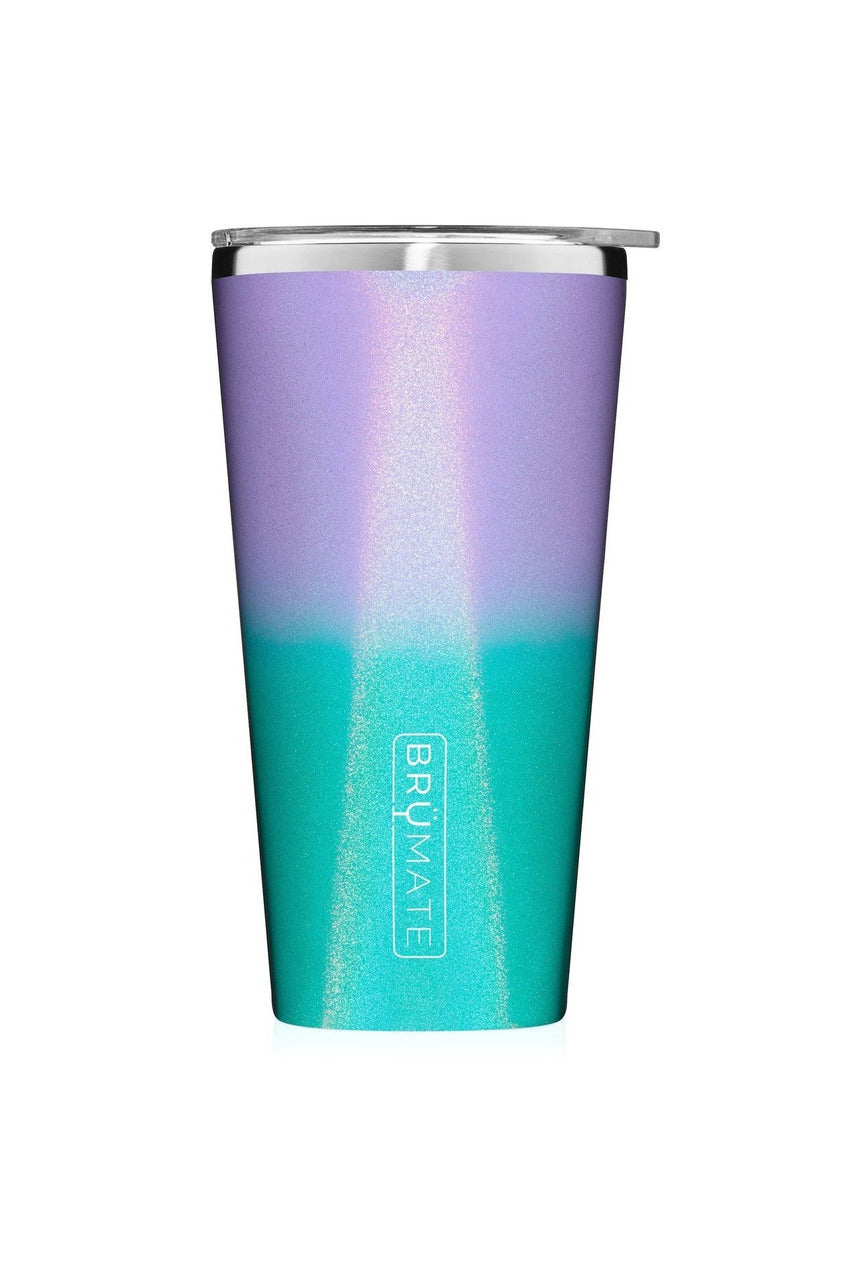 Imperial Pint 20oz-Glitter Mermaid - BluePeppermint Boutique