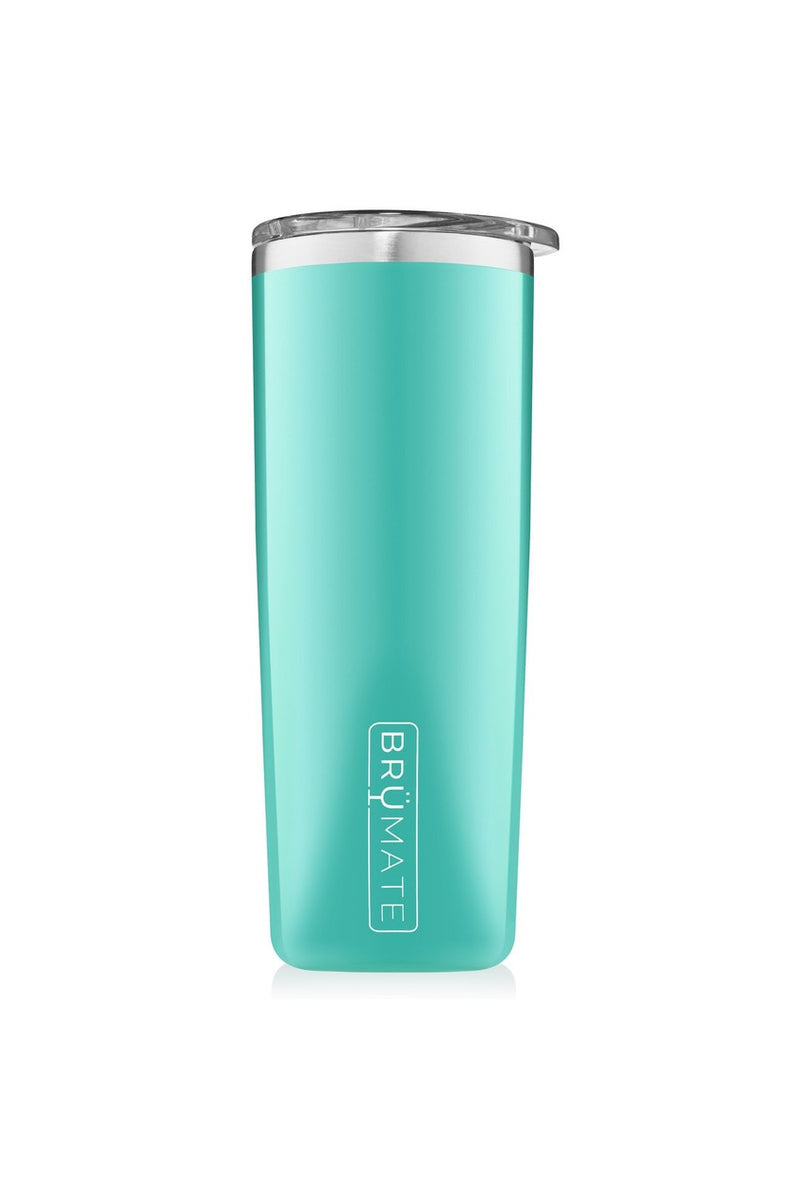 Brumate Highball 12oz-Aqua - BluePeppermint Boutique
