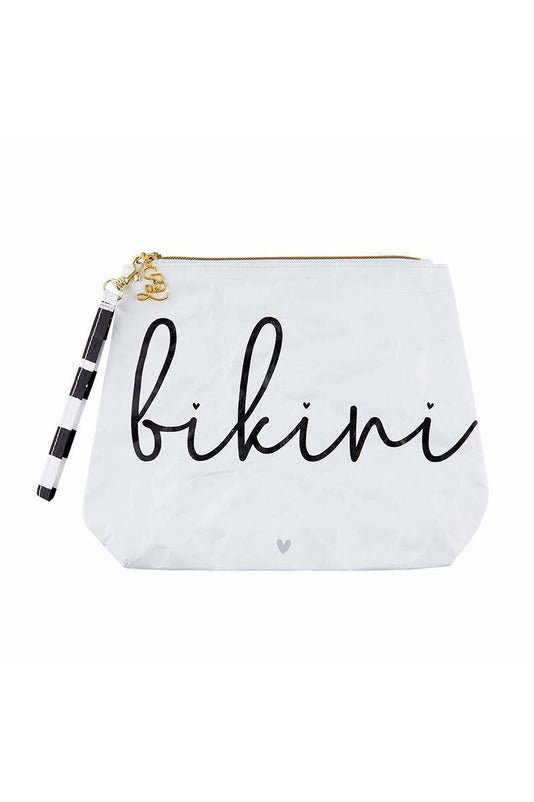 Tyvek Travel Pouch - Bikini - BluePeppermint Boutique