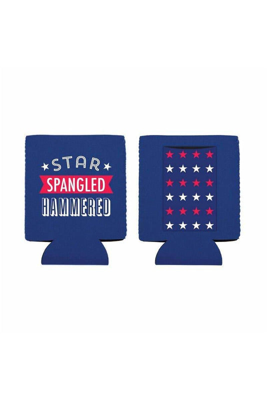 Star Spangled Hammered Can Cover - BluePeppermint Boutique