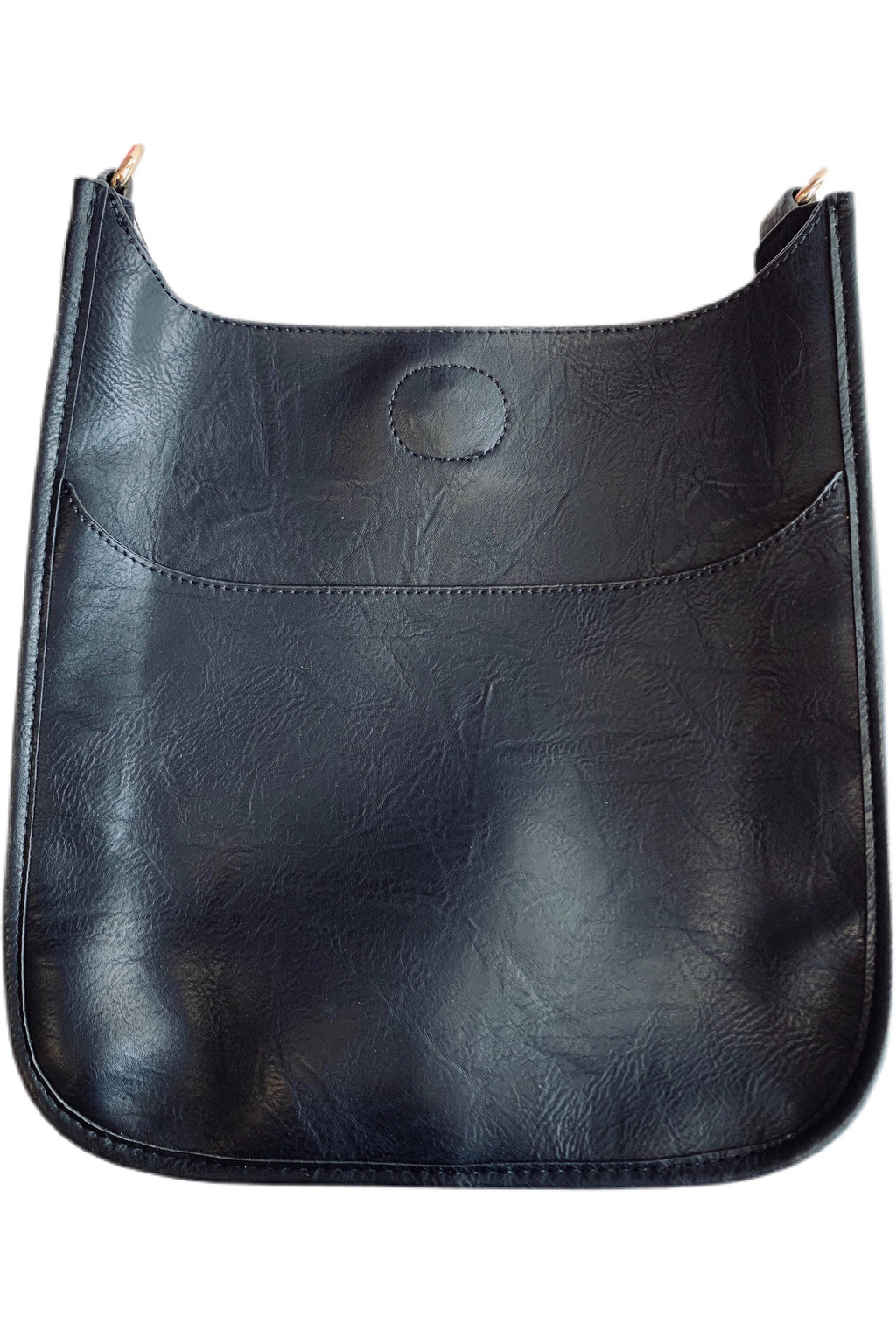 72538V/VEGAN Leather Classic Messenger-NO STRAP ATTACHED!!!! - BluePeppermint Boutique