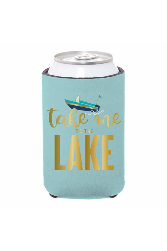 Take Me To Lake Can Cover - BluePeppermint Boutique
