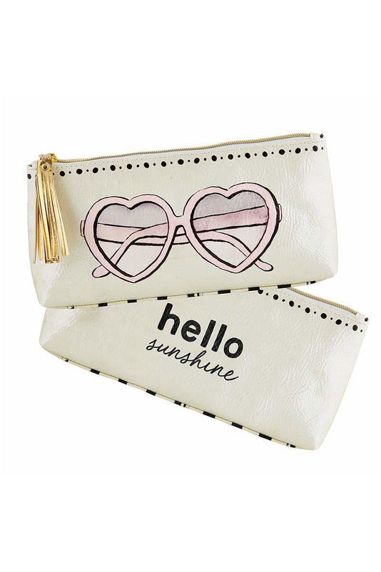 Oil Cloth Bag - HM Sunnies - BluePeppermint Boutique