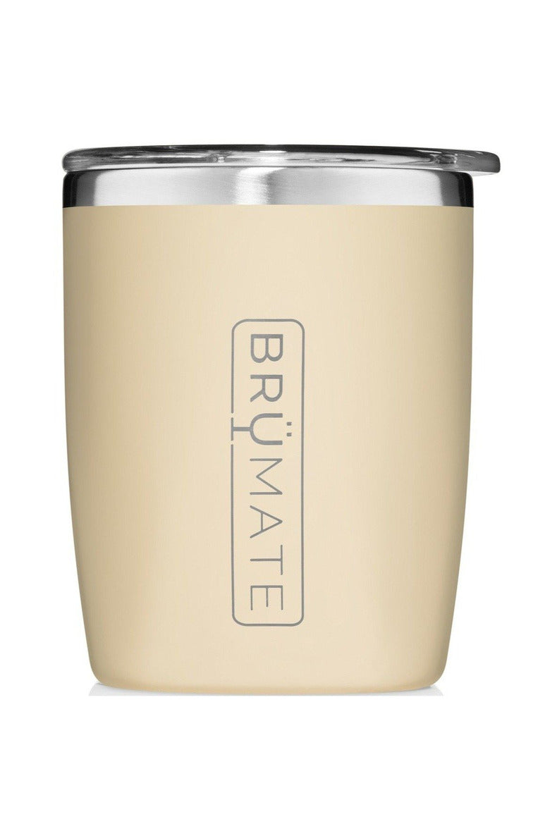 BruMate Rocks Tumbler 12oz-Desert Tan - BluePeppermint Boutique