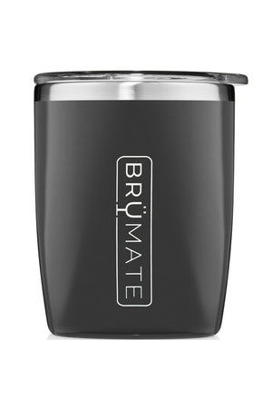 BruMate Rocks Tumbler 12oz-Matte Black - BluePeppermint Boutique
