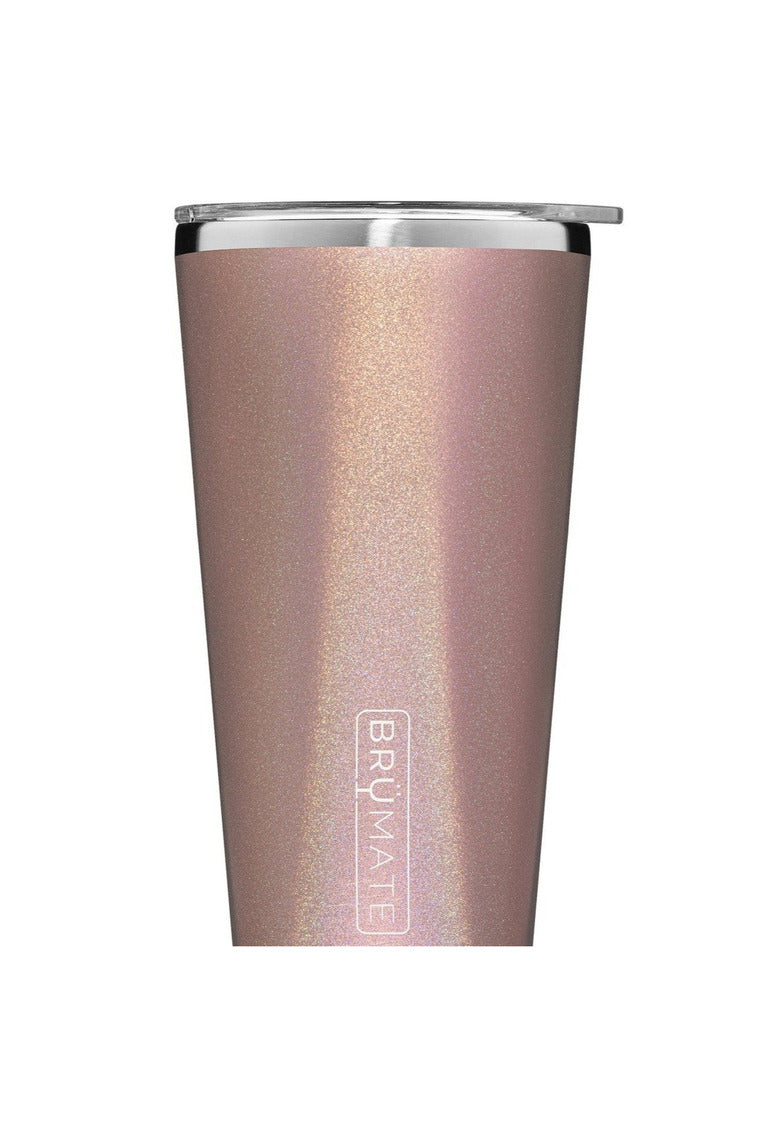 BruMate Imperial Pint 20oz V2.0-Glitter Rose Gold - BluePeppermint Boutique