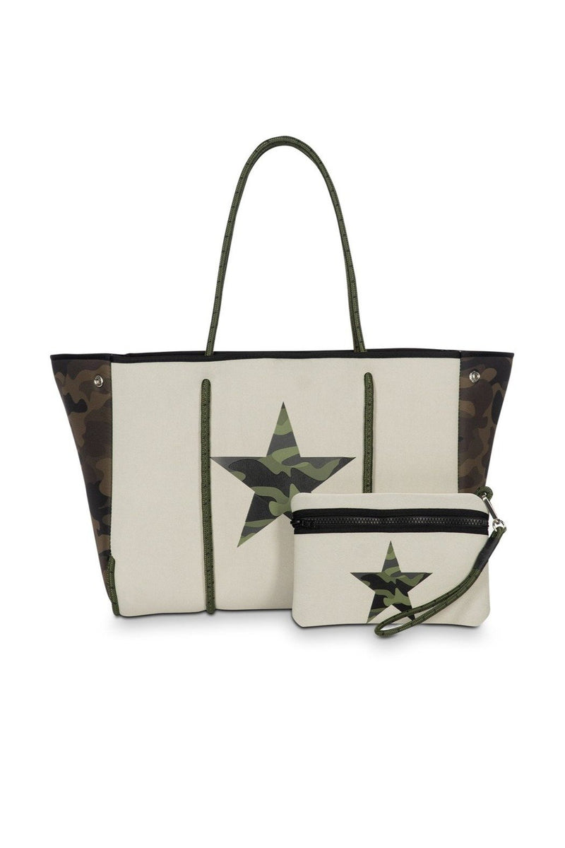 Haute Shore Greyson Trooper Tote - BluePeppermint Boutique