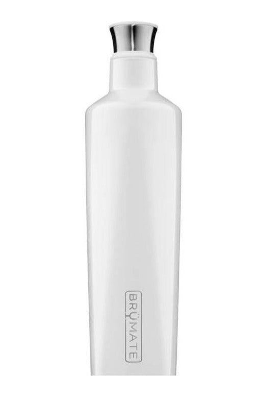 BruMate Fifth 25oz Liquor Canteen-Ice White - BluePeppermint Boutique