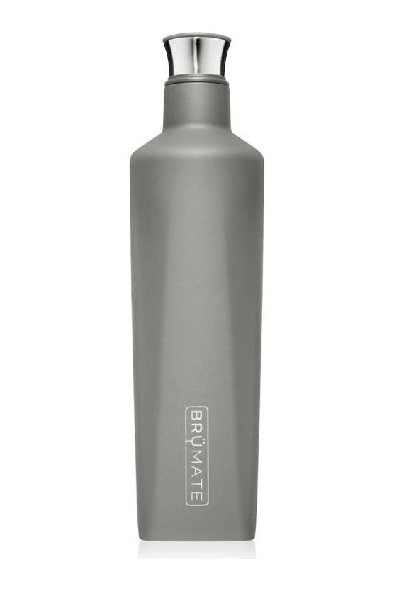 BruMate Fifth 25oz Liquor Canteen-Matte Gray - BluePeppermint Boutique