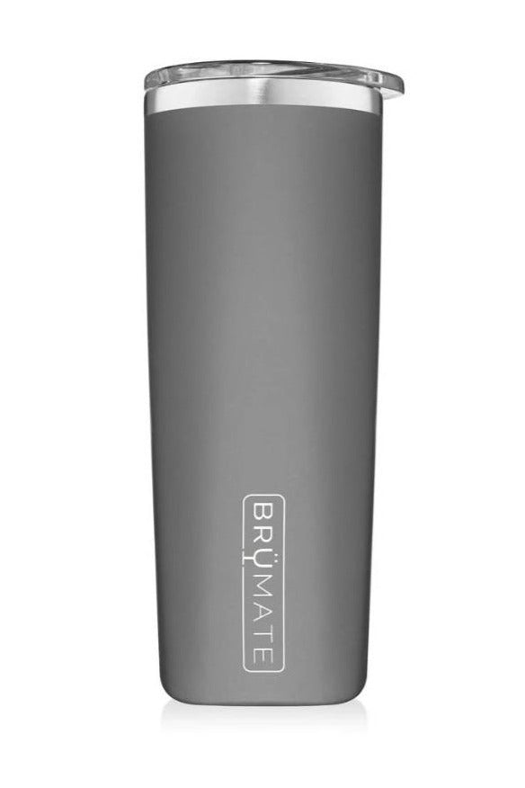 BruMate Highball 12oz-Matte Gray - BluePeppermint Boutique