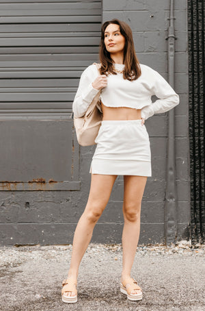 Mauve/Sage Tie Dyed Knit Top