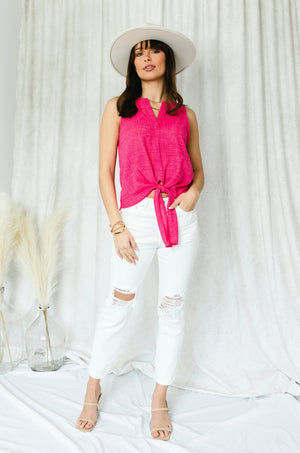 Peach Tie Dyed Long Sleeve Top