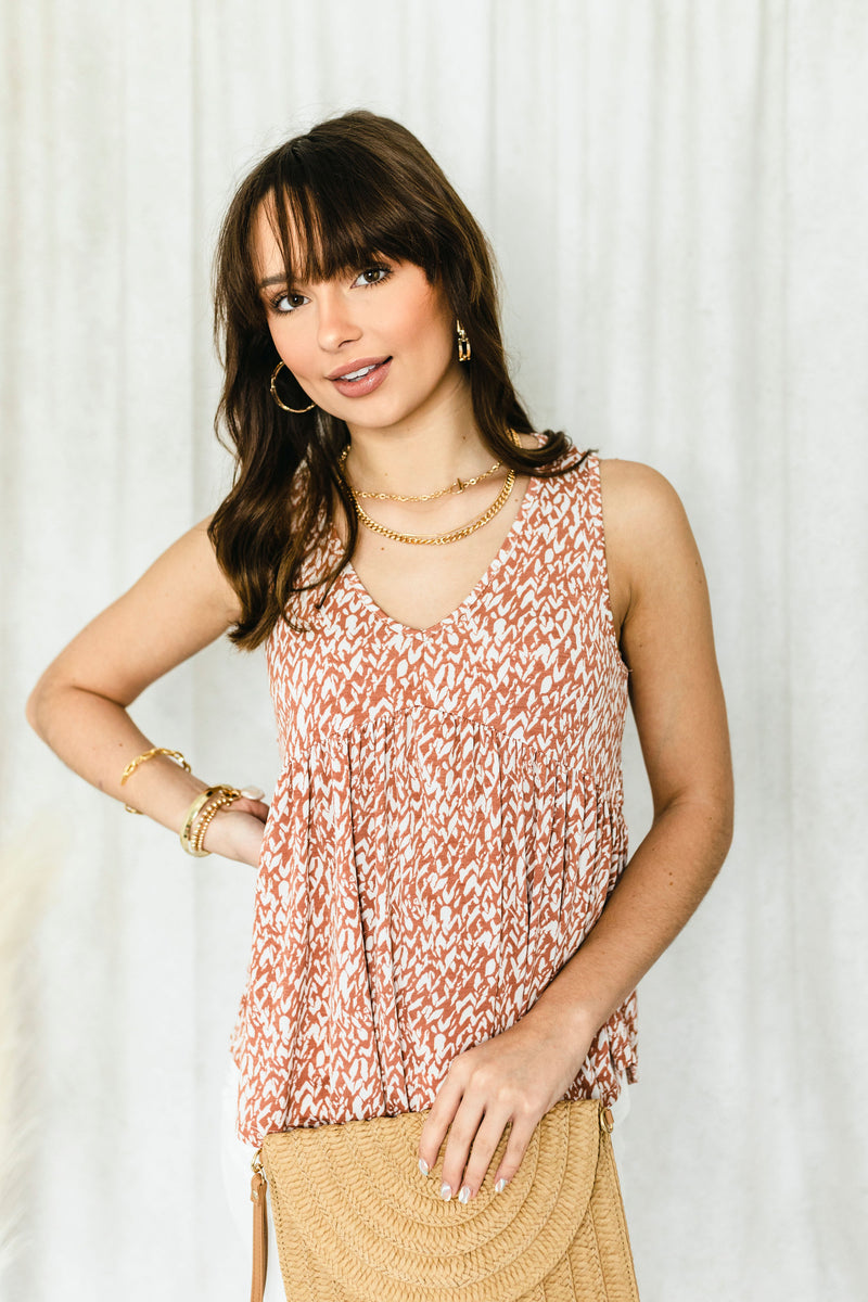 Grey Snake Skin Smocked Dress