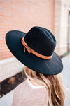 Wide Brim Panama Hat - BluePeppermint Boutique