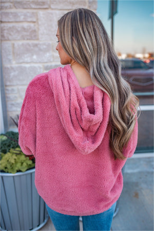 Blush Fleece Pullover - BluePeppermint Boutique