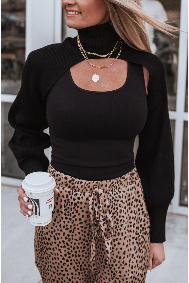 Only The Neck Turtleneck - BluePeppermint Boutique