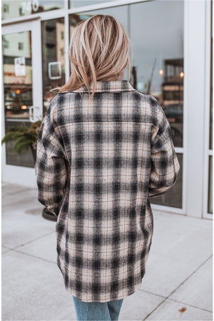 Navy Plaid Flannel