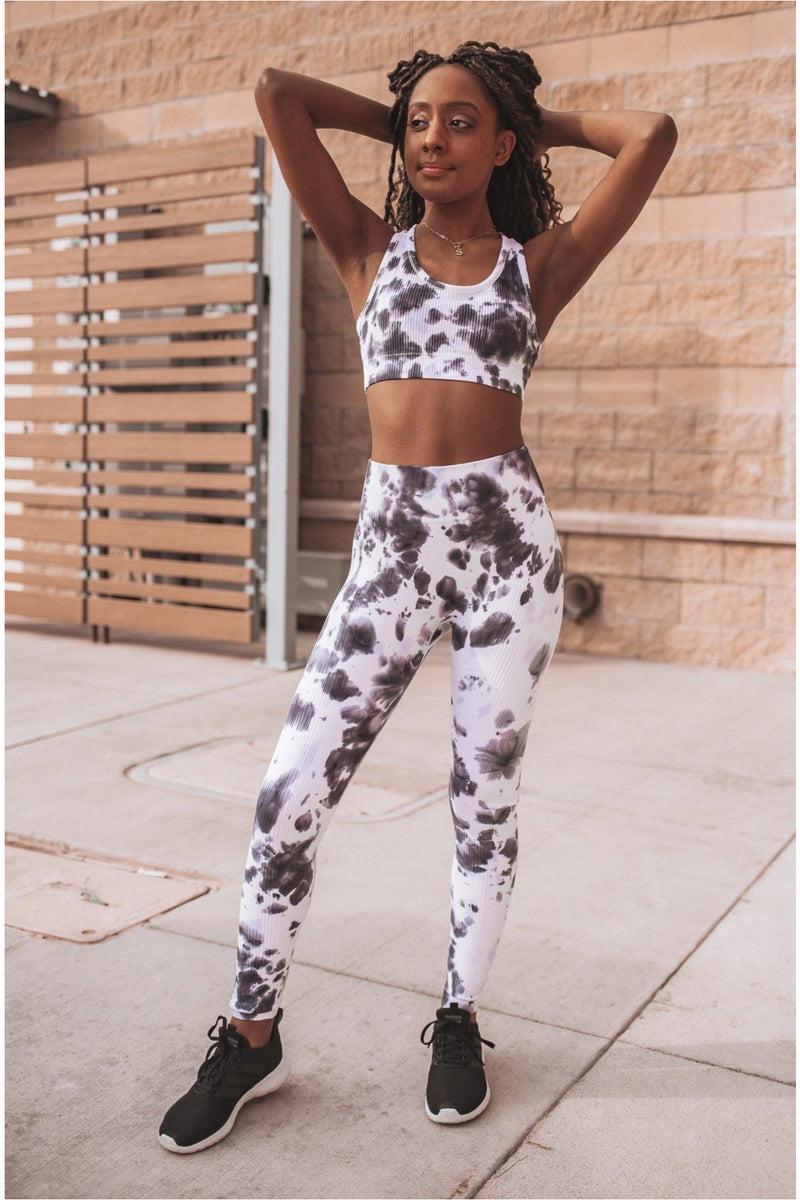 Tie-Dye Seamless Highwaist Leggings