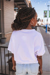 Mama Camo Tee-White - BluePeppermint Boutique