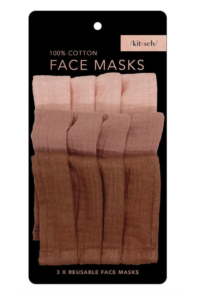 Kitsch Face Mask- Dusty Rose - BluePeppermint Boutique