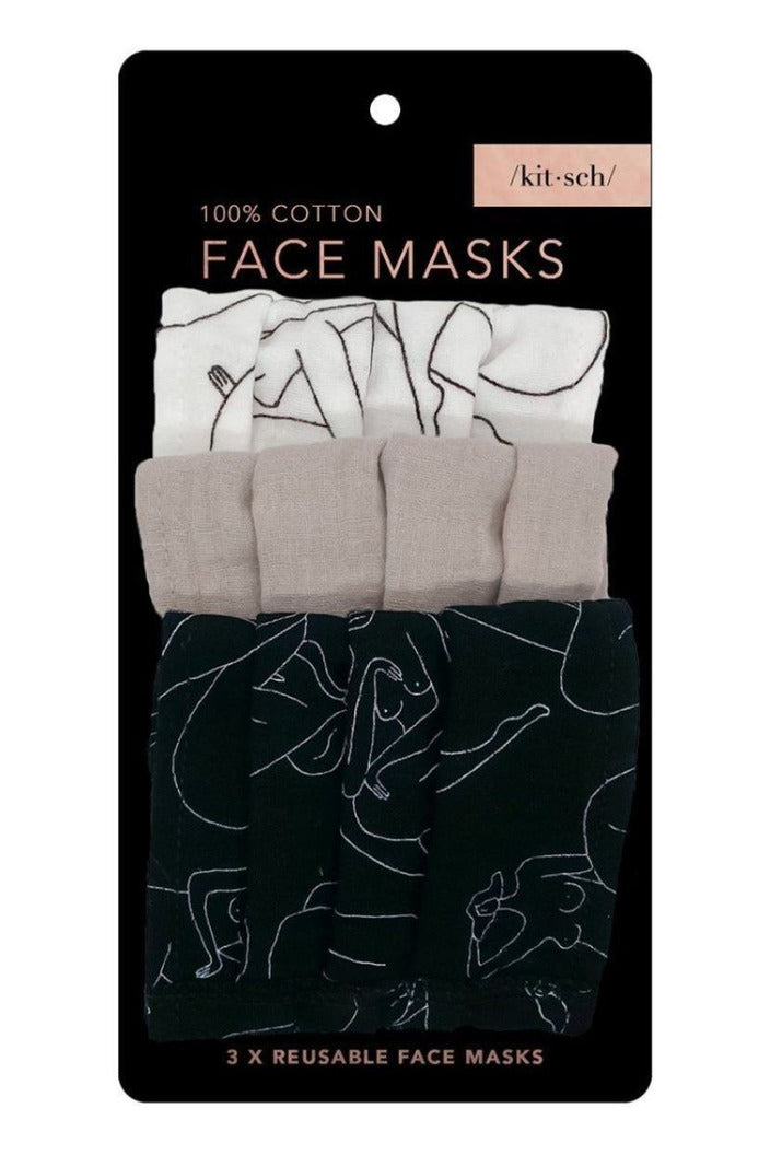 Kitsch Face Mask-Body Positive - BluePeppermint Boutique