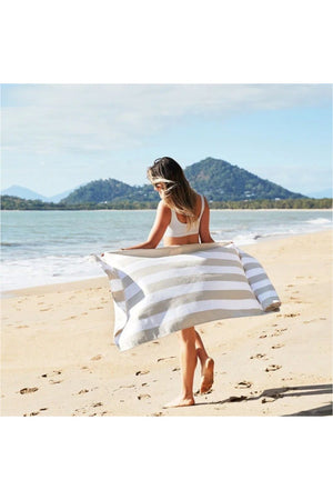 Dock & Bay Cabana Collection Towel-Bora Bora Beige - BluePeppermint Boutique