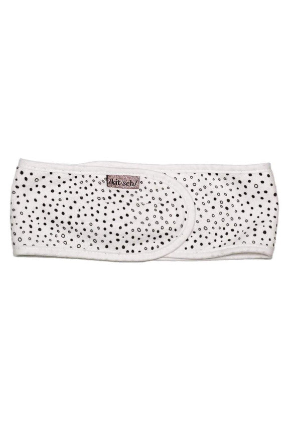 Microfiber Spa Headband-Micro Dot - BluePeppermint Boutique