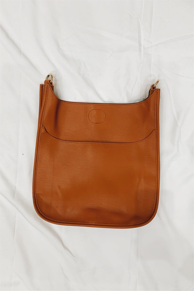 Ah-Dorned Soft Faux Leather Classic Messenger Bag - BluePeppermint Boutique