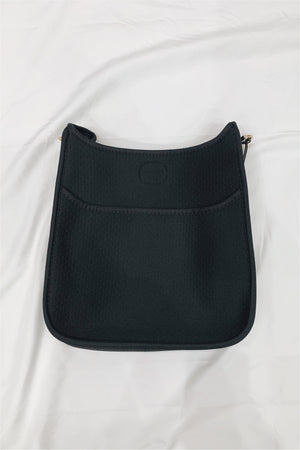 Ah-Dorned Neoprene Messenger Bag - BluePeppermint Boutique