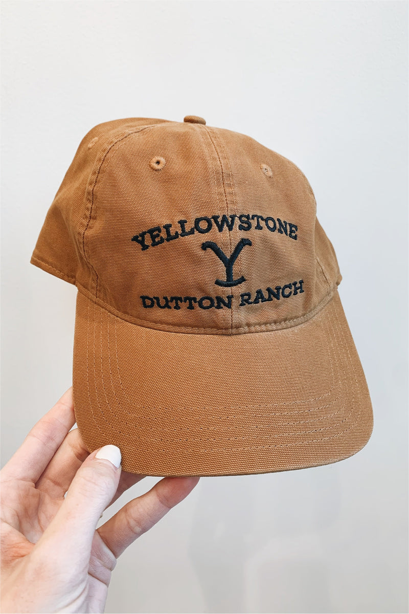 Yellowstone Carhartt Baseball Cap-Brown