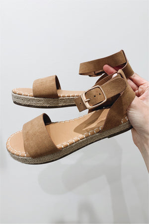 Cargo Single Strap Platform Sandal - FINAL SALE