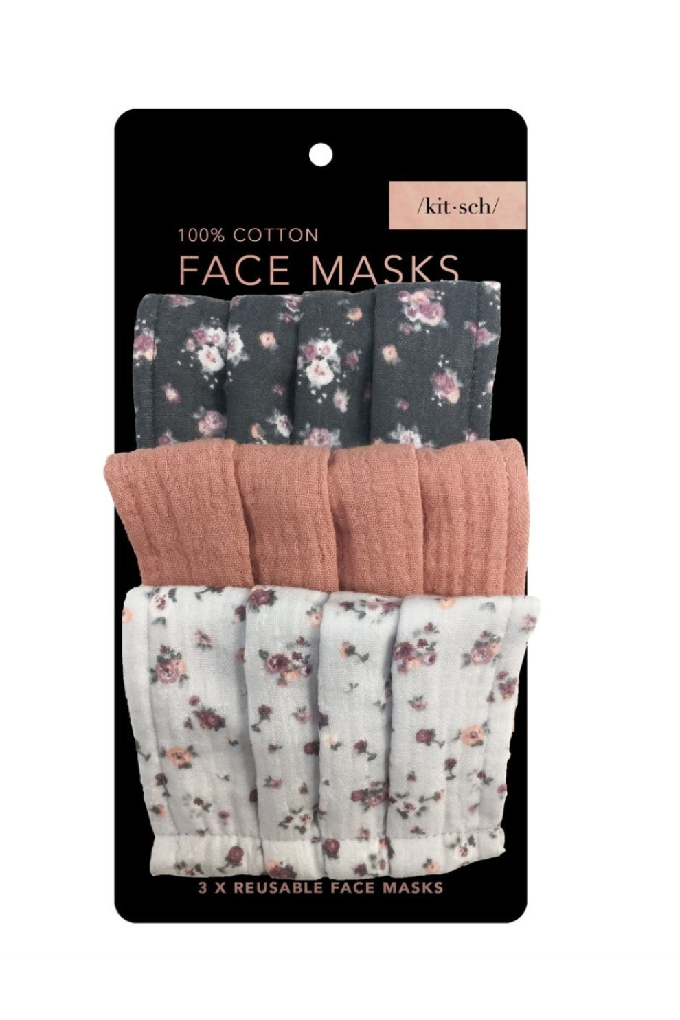 Kitsch Face Mask - Vintage Floral - BluePeppermint Boutique