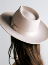 Gigi Pip Monroe Rancher Hat - Ivory - BluePeppermint Boutique