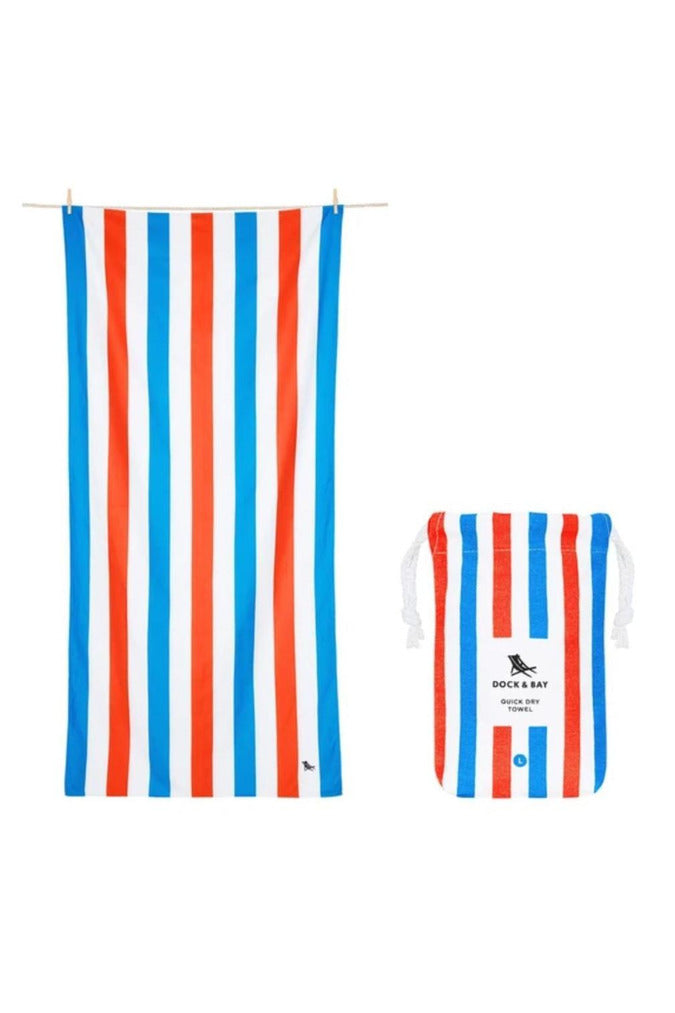 Dock & Bay Summer Collection Towel-Poolside Parties - BluePeppermint Boutique