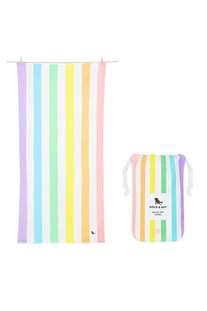 Dock & Bay Summer Collection Towel- Unicorn Waves - BluePeppermint Boutique