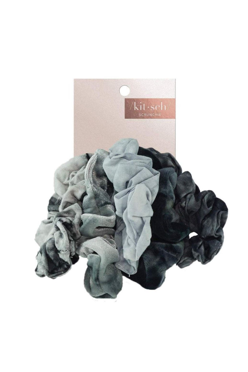 Kitsch Slate Tie Dye Scrunchies - BluePeppermint Boutique